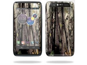Mightyskins Protective Skin Decal Cover for Motorola Atrix HD Cell Phone AT&T wrap sticker skins Tree Camo