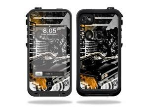 Mightyskins Protective Vinyl Skin Decal Cover for LifeProof iPhone 4 / 4S Case wrap sticker skins City Life