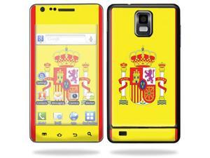 Mightyskins Protective Vinyl Skin Decal Cover for Samsung Infuse 4G Cell Phone wrap sticker skins i997 AT&T - Spain Flag