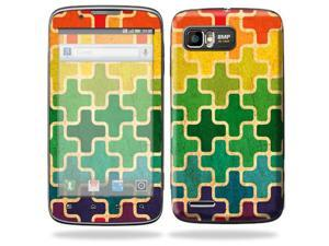 Mightyskins Protective Skin Decal Cover for Motorola Atrix 2 II (version 2) Cell Phone Sticker Color Swatch