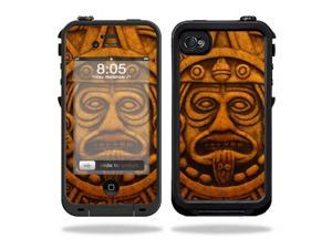 Mightyskins Protective Vinyl Skin Decal Cover for LifeProof iPhone 4 / 4S Case wrap sticker skins Carved Aztec