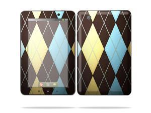 "Mightyskins Protective Skin Decal Cover for Lenovo IdeaPad A1 7"" inch Tablet wrap sticker skins Argyle"