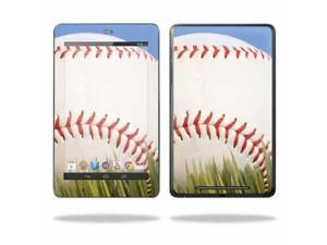 """Mightyskins Protective Skin Decal Cover for Asus Google Nexus 7 Tablet with 7"""" screen wrap sticker skins Baseball"""