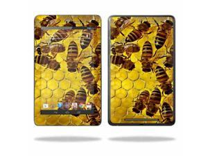 """Mightyskins Protective Skin Decal Cover for Asus Google Nexus 7 Tablet with 7"""" screen wrap sticker skins Honey"""