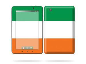 "Mightyskins Protective Skin Decal Cover for Lenovo IdeaPad A1 7"" inch Tablet wrap sticker skins Irish Flag"