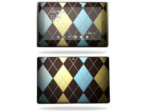 Mightyskins Protective Vinyl Skin Decal Cover for Asus Eee Pad Transformer TF101 wrap sticker skins Argyle