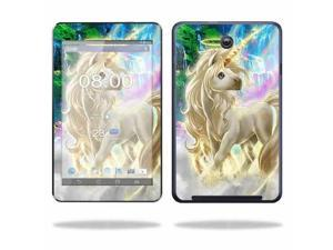 Mightyskins Protective Skin Decal Cover for Asus MeMO Pad HD 7 Tablet wrap sticker skins Unicorn