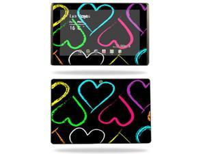 Mightyskins Protective Vinyl Skin Decal Cover for Asus Eee Pad Transformer TF101 wrap sticker skins Hearts