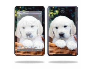 Mightyskins Protective Skin Decal Cover for Asus MeMO Pad HD 7 Tablet wrap sticker skins Puppy
