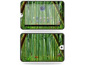 Mightyskins Protective Vinyl Skin Decal Cover for Toshiba Thrive 10.1 Android Tablet wrap sticker skins Bamboo