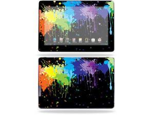 "Mightyskins Protective Skin Decal Cover for Asus Transformer Infinity TF700 Tablet with 10.1"" screen wrap sticker skins Splatter"