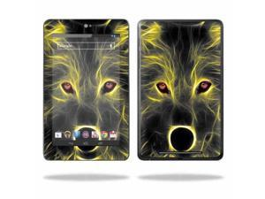"Mightyskins Protective Skin Decal Cover for Asus Google Nexus 7 Tablet with 7"" screen wrap sticker skins Neon Wolf"