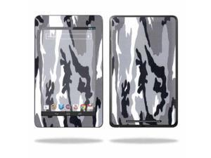"""Mightyskins Protective Skin Decal Cover for Asus Google Nexus 7 Tablet with 7"""" screen wrap sticker skins Gray Camo"""