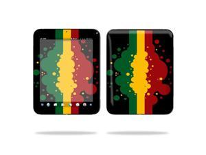 "Mightyskins Protective Vinyl Skin Decal Cover for HP TouchPad 9.7 "" Inch WiFi 16GB 32GB tablet wrap sticker skins Rasta Flag"