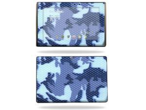 Mightyskins Protective Vinyl Skin Decal Cover for Asus Eee Pad Transformer TF101 wrap sticker skins Blue Camo