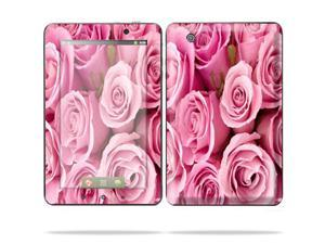 "Mightyskins Protective Skin Decal Cover for Lenovo IdeaPad A1 7"" inch Tablet wrap sticker skins Pink Roses"