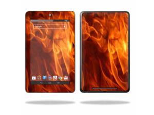 """Mightyskins Protective Skin Decal Cover for Asus Google Nexus 7 Tablet with 7"""" screen wrap sticker skins Backdraft"""