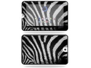 Mightyskins Protective Vinyl Skin Decal Cover for Toshiba Thrive 10.1 Android Tablet wrap sticker skins Zebra