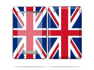 "Mightyskins Protective Skin Decal Cover for Lenovo IdeaPad A1 7"" inch Tablet wrap sticker skins British Pride"