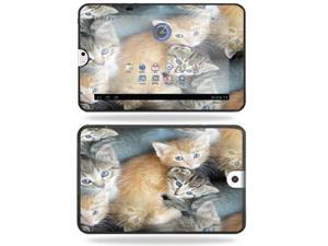Mightyskins Protective Vinyl Skin Decal Cover for Toshiba Thrive 10.1 Android Tablet wrap sticker skins Kittens