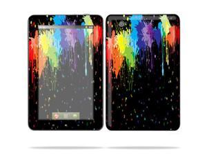 "Mightyskins Protective Skin Decal Cover for Lenovo IdeaPad A1 7"" inch Tablet wrap sticker skins Splatter"