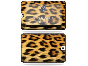 Mightyskins Protective Vinyl Skin Decal Cover for Toshiba Thrive 10.1 Android Tablet wrap sticker skins Cheetah