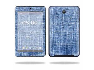 Mightyskins Protective Skin Decal Cover for Asus MeMO Pad HD 7 Tablet wrap sticker skins Denim