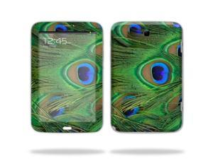 "Mightyskins Protective Skin Decal Cover for Samsung Galaxy Note 8.0 Tablet with 8"" screen wrap sticker skins Peacock"