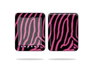 "Mightyskins Protective Vinyl Skin Decal Cover for HP TouchPad 9.7 "" Inch WiFi 16GB 32GB tablet wrap sticker skins Zebra Pink"