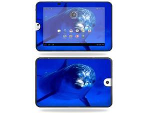 Mightyskins Protective Vinyl Skin Decal Cover for Toshiba Thrive 10.1 Android Tablet wrap sticker skins Dolphin
