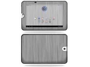 Mightyskins Protective Vinyl Skin Decal Cover for Toshiba Thrive 10.1 Android Tablet wrap sticker skins Steel
