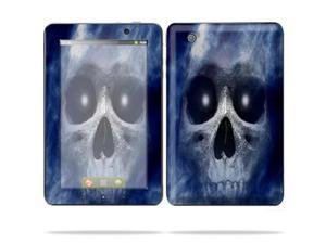 "Mightyskins Protective Skin Decal Cover for Lenovo IdeaPad A1 7"" inch Tablet wrap sticker skins Haunted Skull"