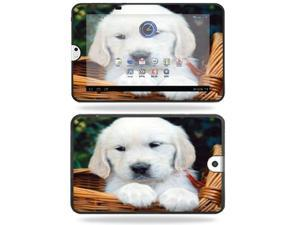 Mightyskins Protective Vinyl Skin Decal Cover for Toshiba Thrive 10.1 Android Tablet wrap sticker skins Puppy