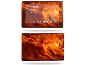 Mightyskins Protective Vinyl Skin Decal Cover for Asus Eee Pad Transformer TF101 wrap sticker skins Back Draft