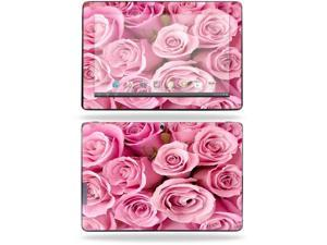 "Mightyskins Protective Skin Decal Cover for Asus Transformer Infinity TF700 Tablet with 10.1"" screen wrap sticker skins Pink Roses"