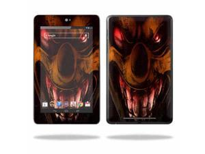 """Mightyskins Protective Skin Decal Cover for Asus Google Nexus 7 Tablet with 7"""" screen wrap sticker skins Wicked Clown"""