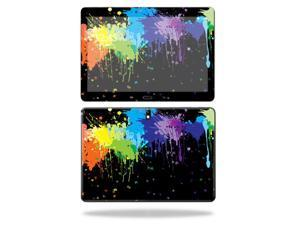 "Mightyskins Protective Vinyl Skin Decal Cover for Samsung Galaxy Note 10.1"" (2nd Gen 2014) skins wrap sticker skins Splatter"