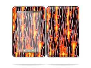 "Mightyskins Protective Skin Decal Cover for Lenovo IdeaPad A1 7"" inch Tablet wrap sticker skins Hot Flames"