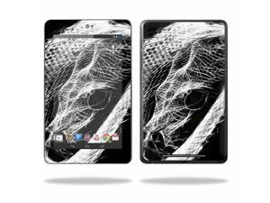 """Mightyskins Protective Skin Decal Cover for Asus Google Nexus 7 Tablet with 7"""" screen wrap sticker skins Snake Bite"""
