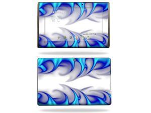 Mightyskins Protective Vinyl Skin Decal Cover for Asus Eee Pad Transformer TF101 wrap sticker skins Blue Fire