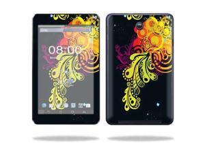 Mightyskins Protective Skin Decal Cover for Asus MeMO Pad HD 7 Tablet wrap sticker skins Flourishes