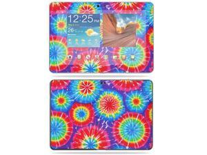 "Mightyskins Protective Vinyl Skin Decal Cover for Samsung Galaxy Tab 10.1 Tablet 10"" wrap sticker skins Tie Dye 1"