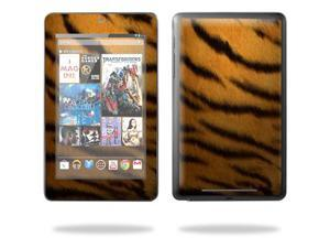 """Mightyskins Protective Skin Decal Cover for Google Nexus 7 tablet 7"""" inch screen stickers skins Tiger"""