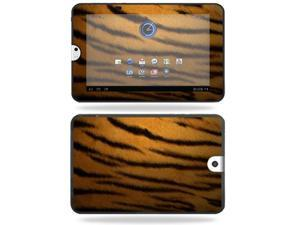 Mightyskins Protective Vinyl Skin Decal Cover for Toshiba Thrive 10.1 Android Tablet wrap sticker skins Tiger