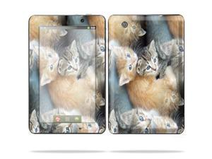 "Mightyskins Protective Skin Decal Cover for Lenovo IdeaPad A1 7"" inch Tablet wrap sticker skins Kittens"
