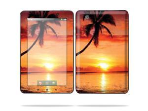 "Mightyskins Protective Skin Decal Cover for Lenovo IdeaPad A1 7"" inch Tablet wrap sticker skins Sunset"