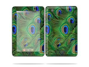 "Mightyskins Protective Skin Decal Cover for Lenovo IdeaPad A1 7"" inch Tablet wrap sticker skins Peacock"