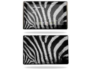 Mightyskins Protective Vinyl Skin Decal Cover for Asus Eee Pad Transformer TF101 wrap sticker skins Zebra