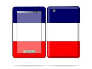 "Mightyskins Protective Skin Decal Cover for Lenovo IdeaPad A1 7"" inch Tablet wrap sticker skins France Flag"