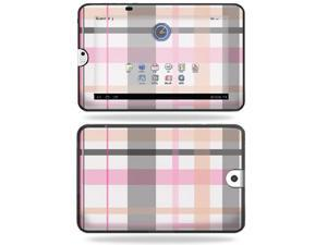 Mightyskins Protective Vinyl Skin Decal Cover for Toshiba Thrive 10.1 Android Tablet wrap sticker skins Plaid